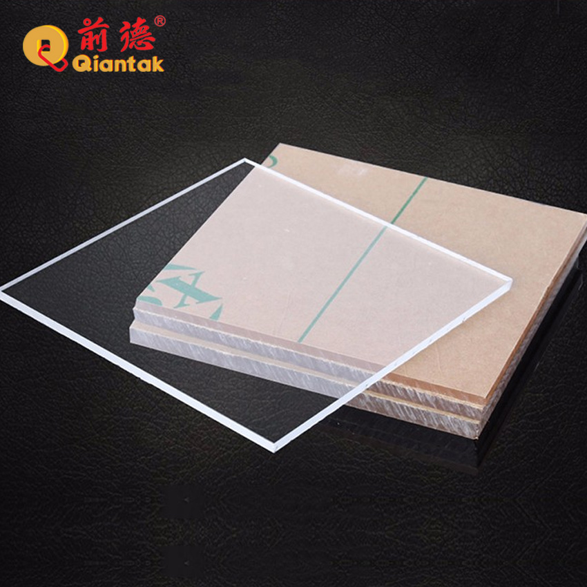 Transparent Custom Size Cast Acrylic Panel Glass/Perspex <strong>Sheet</strong>