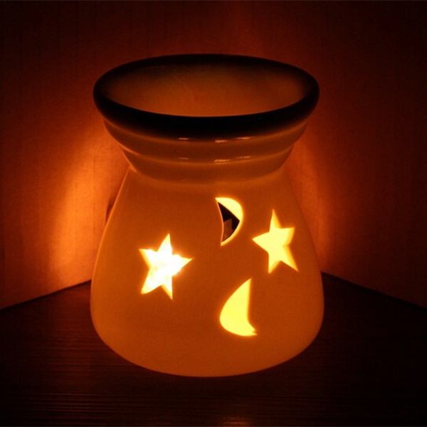 cordless candle warmer/tealight oil burner christmas decorative