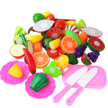 Kitchen Food Pretend Play Toy Cutting Fruit Vegetable Set kid Educational Toys toys for kids