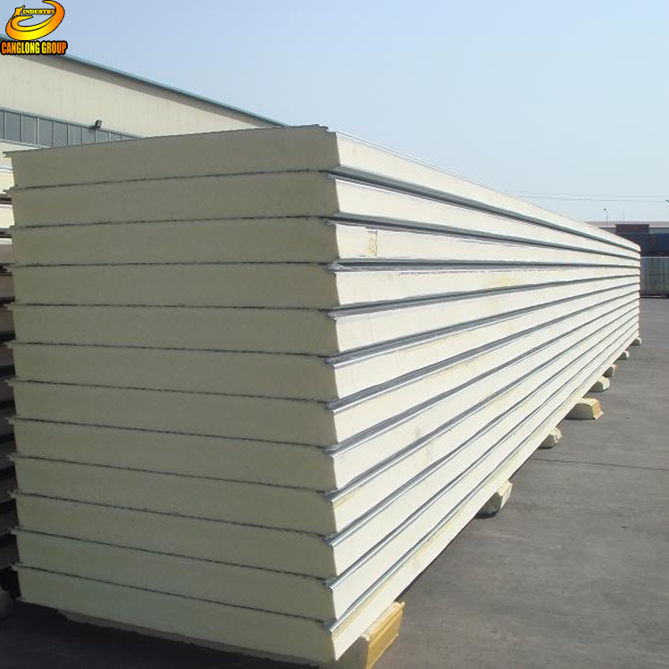 Used cold room pur pir sound absorption wall sandwich panels