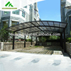All aluminium carports garages with polycarbonate roof