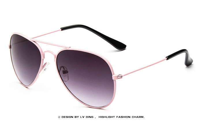 Mercúrio revestimento Crianças Óculos De Sol Feixe Duplo Crianças Bebê Meninos Meninas Óculos de Sol Óculos de Proteção UV400 Óculos de Sol Goggle Personas