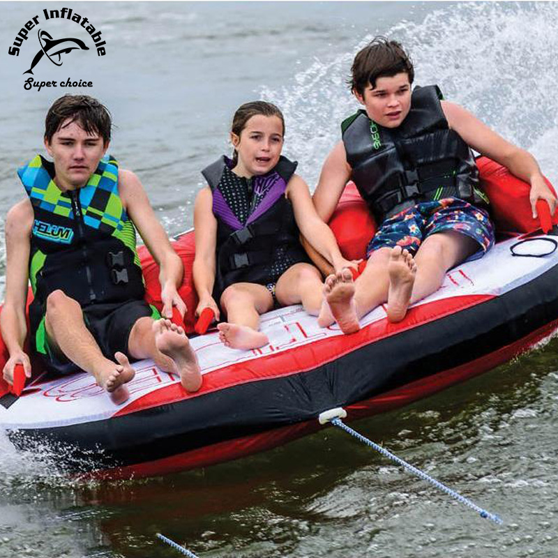 3 Riders Inflatable Water Sports Towable Tube Toys