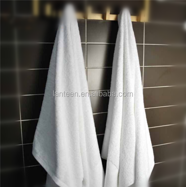 USA 100% cotton custom pure white terry hotel face towels manufacture