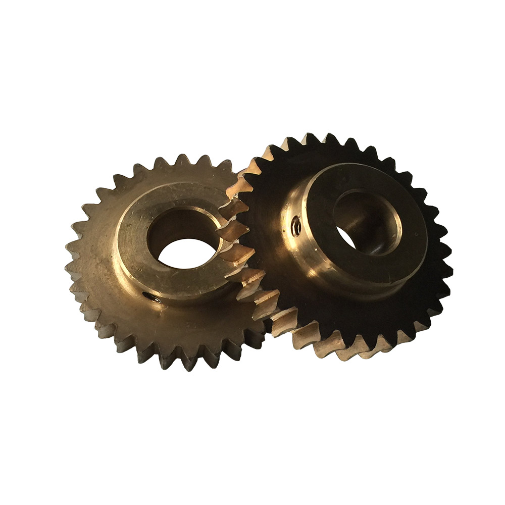 customized brass worm gear
