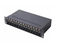 Convenient 2U 14 Slot Fiber Media Converter Chasis Best Price Provider