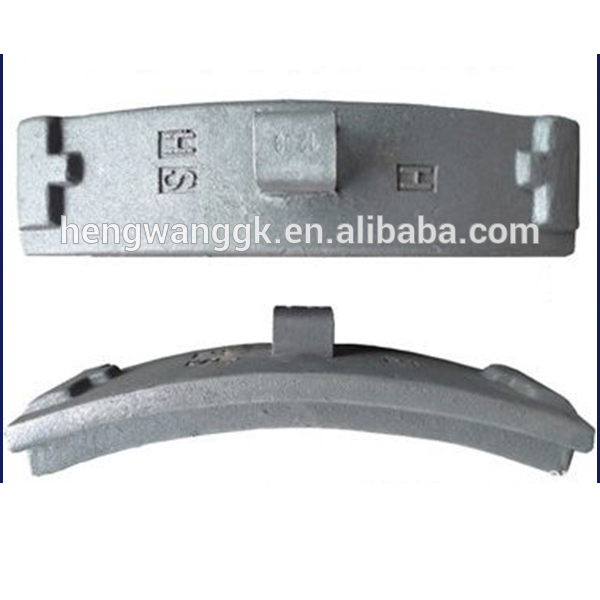 Train And Wagon Brake Pad, railway brake shoe for sale, cast irom brake shoes