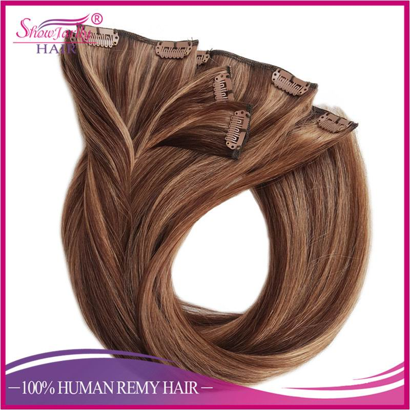 Russian Hair Remy Clip In Hair Extensions Clip On Meter Hair Piano