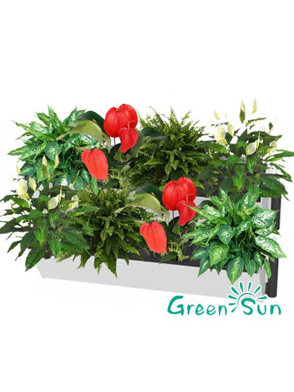 Green Wall/living Wall,green Roof,vertical Plant Artificial Walls Plastic  Green Wall