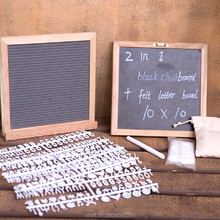 Hot Selling Custom Color magnetic double side 10x10 Inches High Quality Felt Letter Boards With Custom Accessories