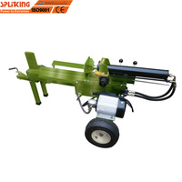 12 Ton electric heavy duty hydraulic fast Log Splitter automatic wood cutting machine for electric quick wood splitter