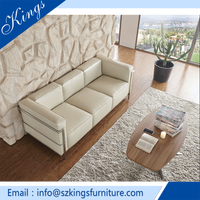 Leather European style American Style Office Sofa S1810
