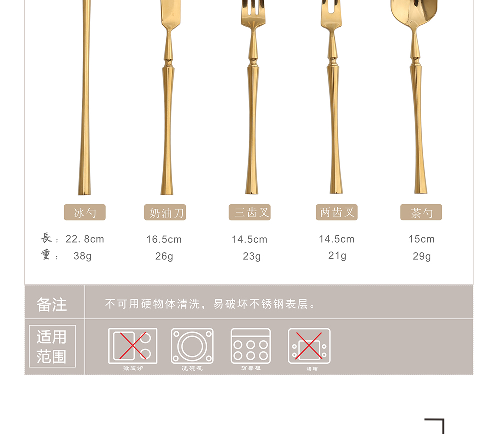 Top Seller High Quality Rose Gold 18to10 Stainless Steel Cutlery Set for Wedding Gift