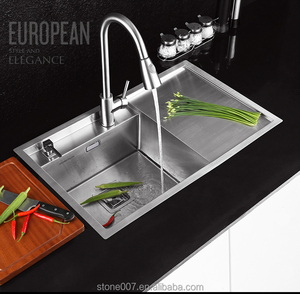 Customized stainless steel kitchen sink