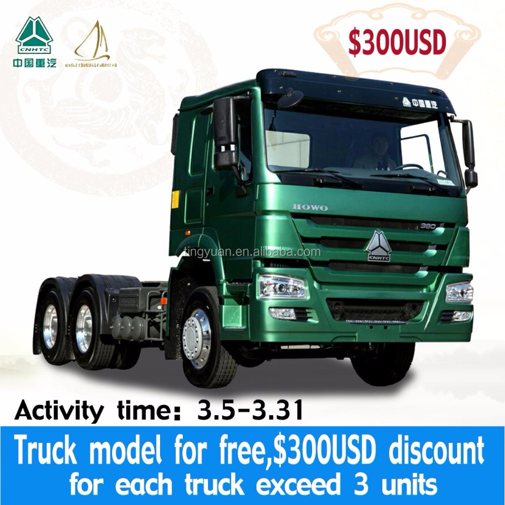 MARCH EXPO SINOTRUK HOWO 6*4 420HP Tractor truck/Prime mover for africa