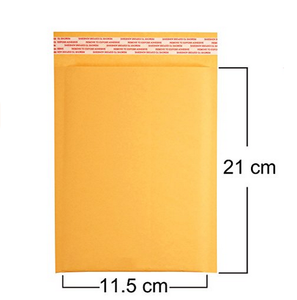 Custom printed logo kraft poly bubble mailers envelopes bags