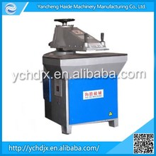 Hydraulic swing arm power press pu/eva leather skiving/strap cutting machine