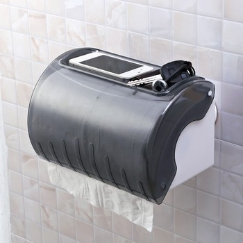 Wall mounted widely use multi purpose ceramic toilet paper holder