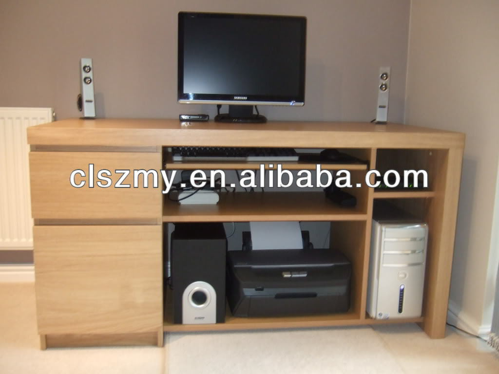 Particle Board Computer Desk, Particle Board Computer Desk Suppliers And  Manufacturers At Alibaba.com