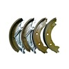 Hot selling europe market air brake shoes assembly for heavy duty forklift industrial vehicle