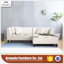 Corner fabric modern sectional sofa couches