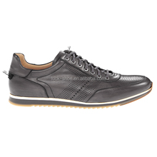 Mens fashion shoes collection genuine leather branded shoes semi casual gents shoes wholesale