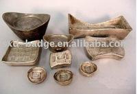 gold plated ingot china