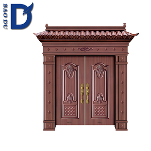 european high quality hot -sell security non -standard security doors made in zhejaing baodu