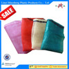 orange PE raschel mesh bag for onions firewood vegetable