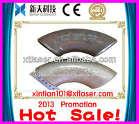 Hot sale!! Elbow pipe/Curved pipe pneumatic dot peen marking machine