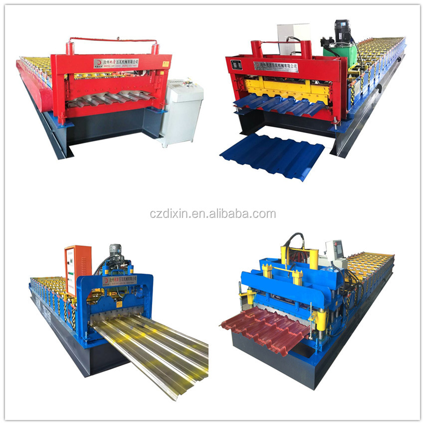Top Overseas Service Light Steel Cold Roll Forming Machine