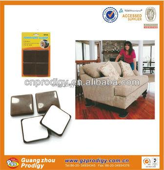 2015 Top Sale Self Adhesive Furniture Protector Chair Legs Glides Sliders/moving  Sliders