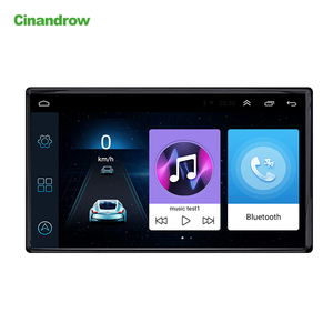 Universal Auto Android GPS Navigation, AM FM RDS Stereo Multimedia Audio DVD Player with Bluetooth Wifi Car Radio Car Camera