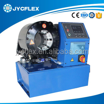 one piece hose fittings crimping machine, maquinas para prensar mangueras hidraulicas