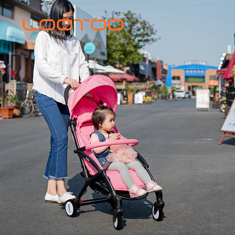 China strong kids deluxe portable one hand easy folding walker bike baby stroller best sale to russia