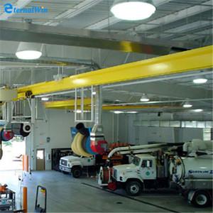 5t electric hoist single beam rail mounted 15ton 16ton 20ton bridge  overhead crane for malaysia
