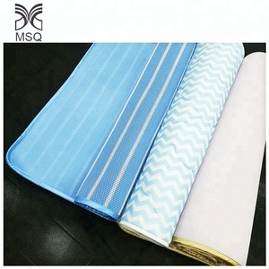 3d Spacer Air Mesh Fabric Luxury Mattress Ticking Fabric Sleeping Pad With Pillow