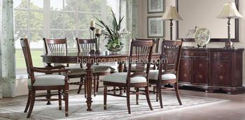 Vintage style möbel esszimmer  Vintage Land Stil Esszimmer Möbel,Massivholz Klassischen Geschnitzt ...