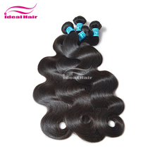 grade 4a+ factory direct sell 100% human hair virgin brazilian wavy hair
