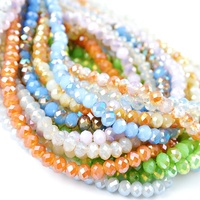 Pujiang crystal glass bead manufacturer glass beads for jewelry making