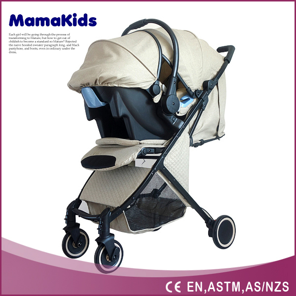 luxury baby stroller 2016 New Style Luxury Baby Jogger With Car seat
