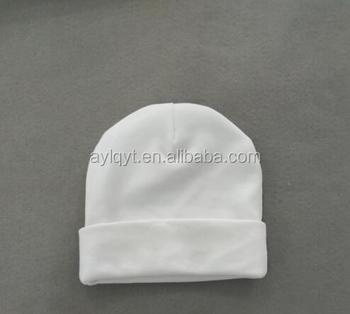 Mz-mc-005 Wholesale White Cap Unisex 100% Cotton Baby Hat - Buy ... 6f1e5194d59