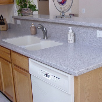 Purple quartz stone kitchen countertops man made stone for Man made quartz countertop