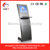 Slim Self-service Touch Screen Payment Kiosk with Keyboard