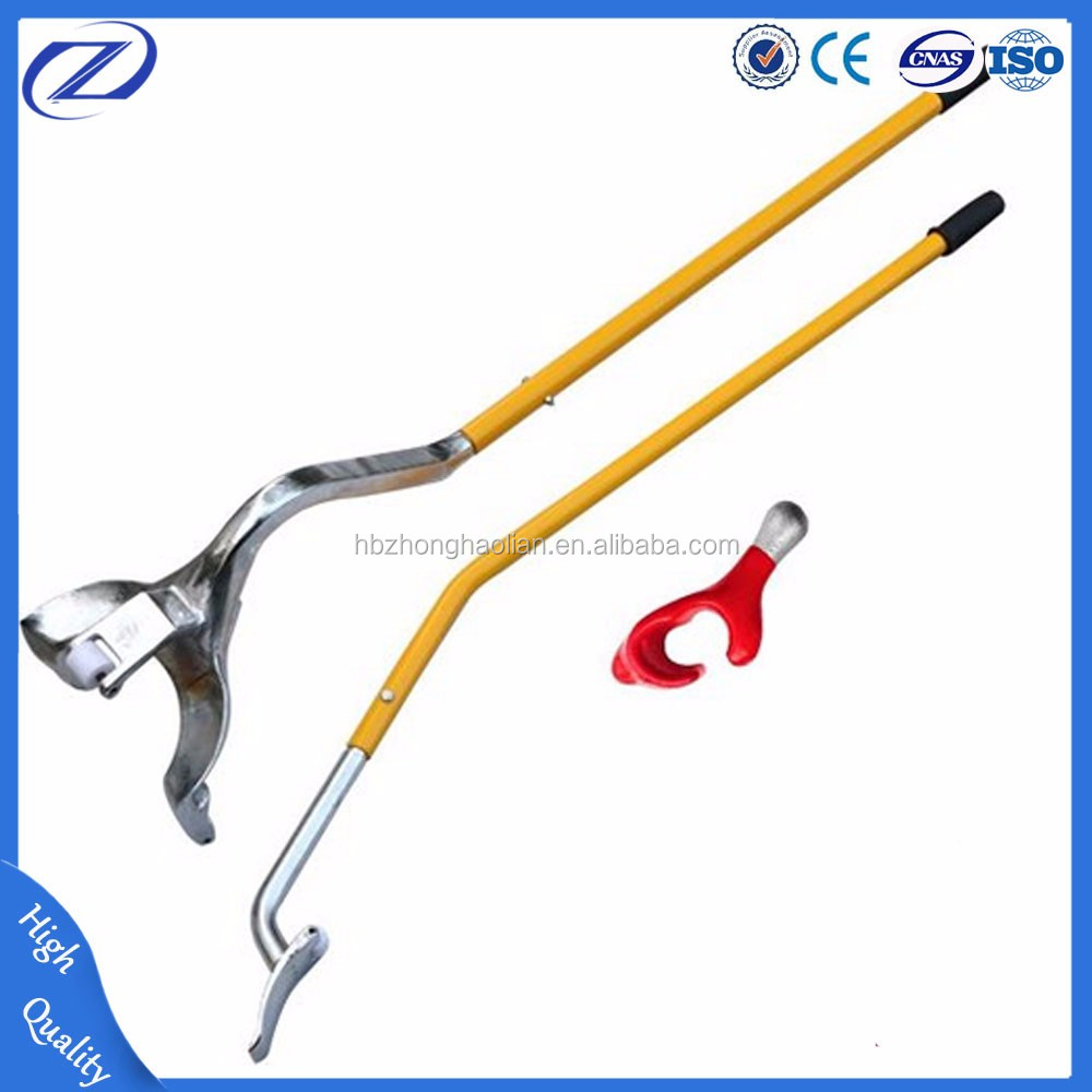 Tire hand changer repair tools for tire disassemble