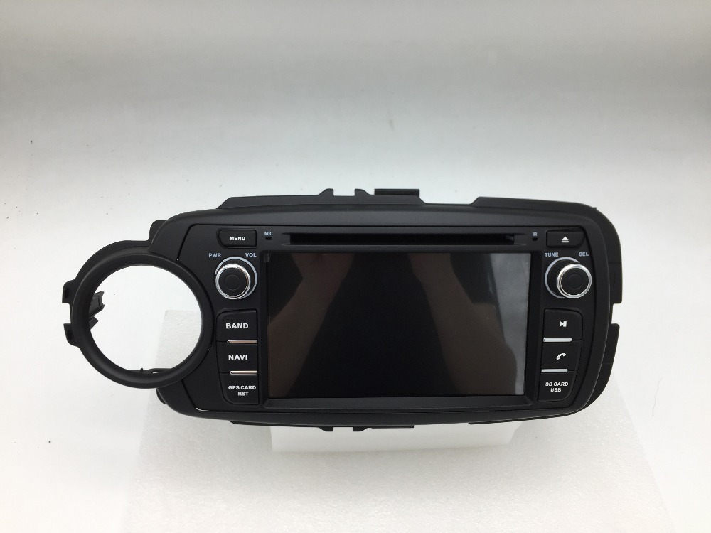 Iokone DTH6019 touch screen android 5.1 <strong>car</strong> dvd player for <strong>toyota</strong> yaris 2011 -2013 <strong>car</strong> multimedia system gps navigation wifi 3g