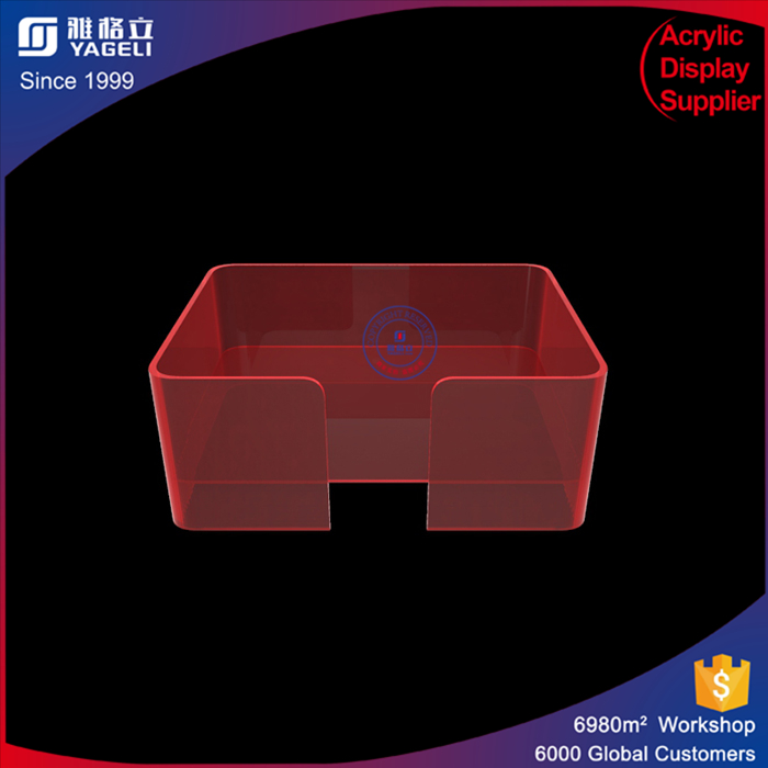 Superior quality big size rectangle open door family acrylic pet bed