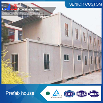 Low Cost Steel Frame Prefab Modular Container House /container Home ...