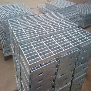 galvanized catwalk metal grid steel grating, steel walking platform / grating steel