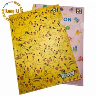 Plastic office A4 file folder sheet /plastic clear file sleeves